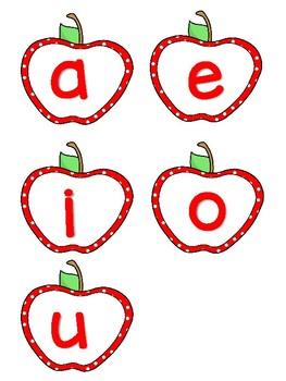 Word Wall Apple Classroom Decor