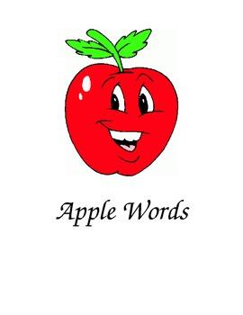 Apple Words Folder