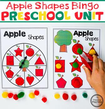 Apple Worksheets - Preschool NEW
