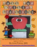Apple Writing Craftivity For Fall