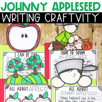 Apple Writing Craftivity- Johnny Appleseed