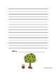 FREE Apple Writing Paper