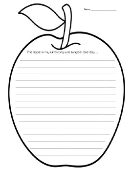 Apple Writing Prompt