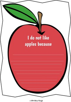 Fruity FUN Opinion Writing Prompts {Differentiated and Common Core Aligned}