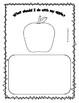 Apple Writing Prompts for Pre-K, Kindergarten, or First Grade