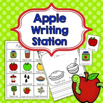 Apple Writing Station