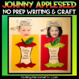 Apple Writing and Craft Templates Johnny Appleseed Kindergarten Science