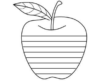 Apple Writng Activity