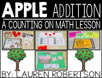 Apple addition: A counting on math lesson