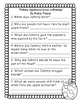 Apple and Johnny Appleseed Books Comprehension Questions