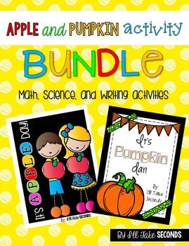 Apple and Pumpkin Activities Bundle