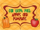 Apple and Pumpkin Jack-o-lantern Glyph Pack