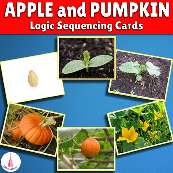 Apple and Pumpkin Language Sequence Cards