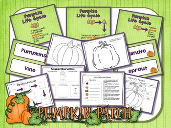 Apples and Pumpkins - Life Cycle Bundle With PowerPoints
