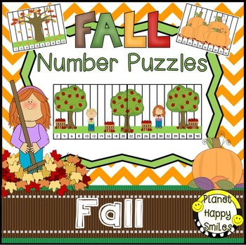 Number Puzzles for Apples and Pumpkins