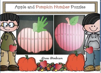 Apple and Pumpkin Number Puzzles