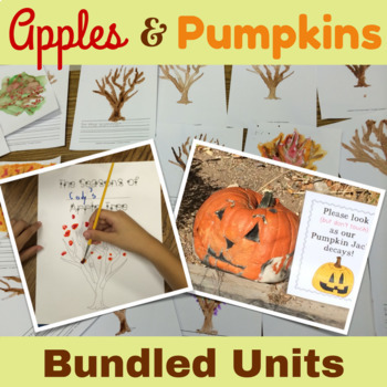 Apples and Pumpkins Units Bundle {CCSS Math, ELA, Science,