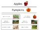 Apple and Pumpkins Venn Diagram