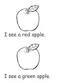 Apple emergent reader book