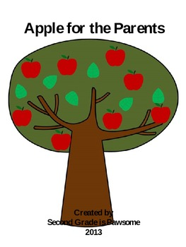 Apple for the Parent magnet