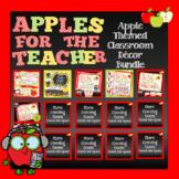 Apple for the Teacher Classroom Decor Kit - Growing Bundle