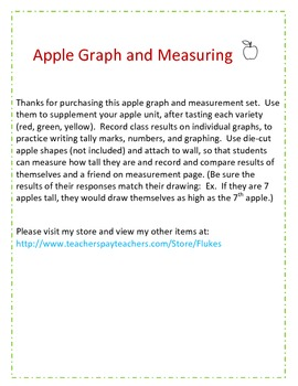 Apple graph and measurement