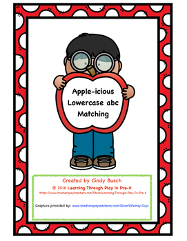 Apple-icious Lowercase Letter Matching