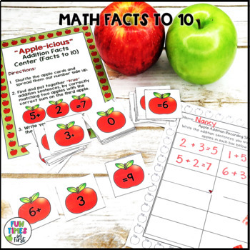 """""""Apple-icious"""" Math and Literacy Pack"""