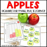 Apple Activities for Math, Literacy, and Science