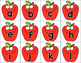 Apple letter and sounds center games
