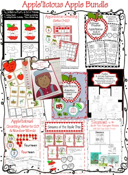 Apple'licious Apple Bundle: A Bushel of Apple Activities!