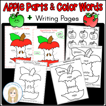 Apple'licious Apple Parts and Color Words