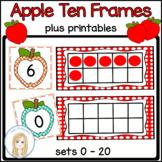 Apple Ten Frames: Sets 0 - 20