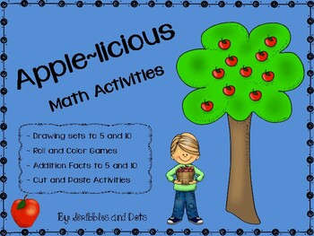 Apple~licious Math Activities -- Numbers to Ten