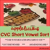 Apple-licious Short Vowel Sort