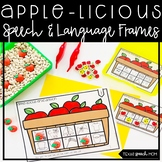 Speech and Language Therapy: No Prep Apple Unit