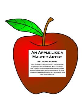 Apple like a Master Artist