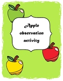 Apple observation activity
