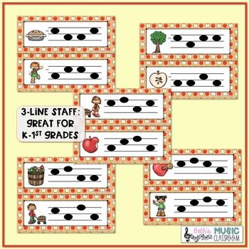 Apple of My Eye! Scavenger Hunt: Write the Room Melodic BUNDLE - 5 GAMES!