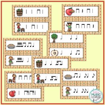 Apple of My Eye! Scavenger Hunt: Write the Room Rhythms BUNDLE - 7 GAMES!