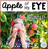 Apple of My Eye, Scavenger Hunt, Write the Room Rhythms BUNDLE - 7 GAMES!