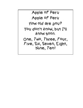 Apple of Peru