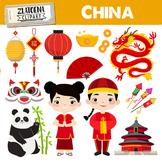 Chinese New year clipart China clipart Panda China clip ar