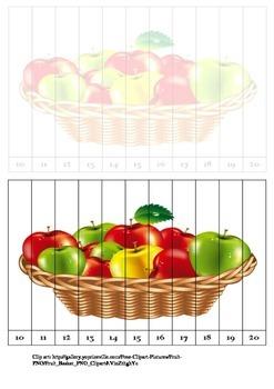 Apple pieces