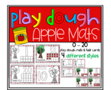 Apple playdough mats