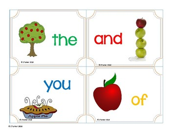 Apple sight word Write the room