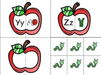 Apple starts with Aa- A beginning sounds game