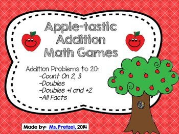 Apple-tastic Addition Games
