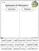 Apple-tastic FREEBIE - ELA & Math Printables