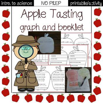 Apple tasting mini-book and graph